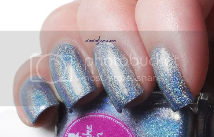 xoxoJen's swatch of Cupcake Polish Remembering Blue