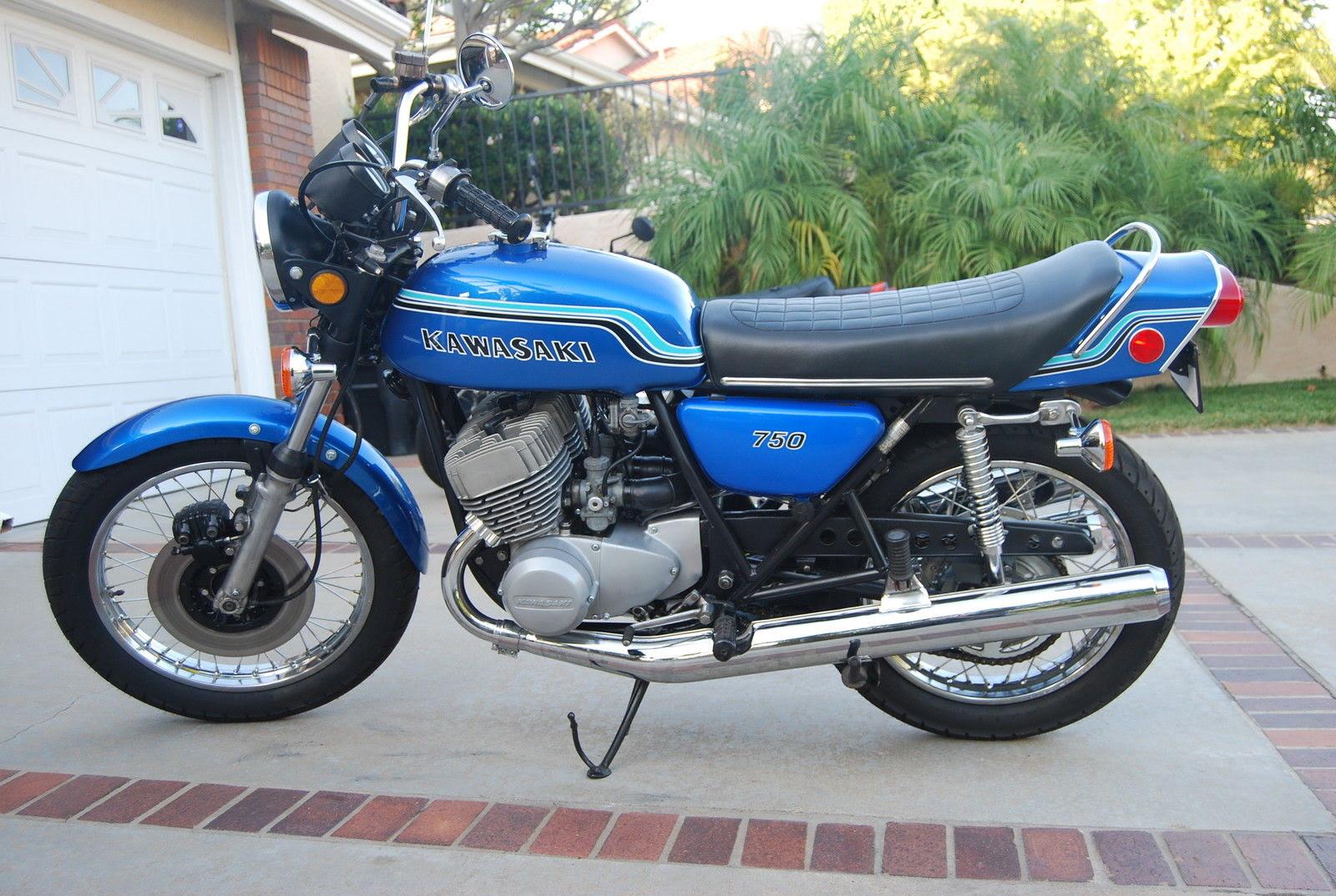 Restored Kawasaki H2 750 1972 Photographs At Classic Bikes
