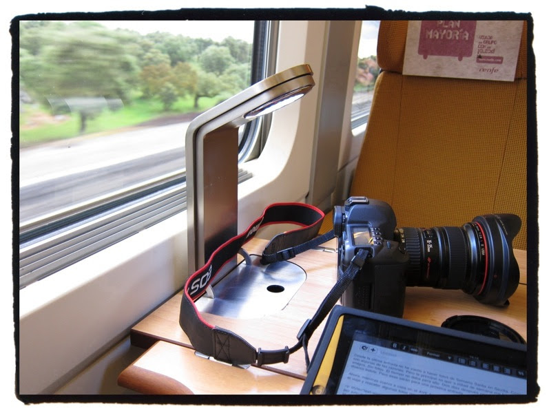 Fotos en un tren
