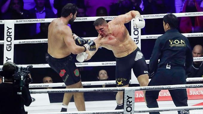 Geen wereldtitel voor Ben Saddik na beklijvend titanengevecht met Verhoeven