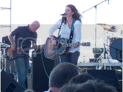 Kathleen Edwards @ Mix 99.9 FM Beachfest