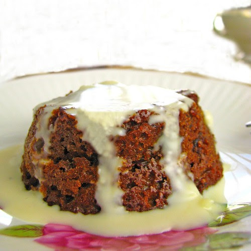sticky date pudding butterscotch and white chocolate sauce