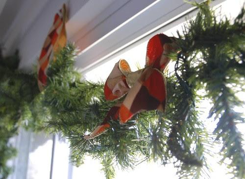 Wendy's Christmas garland
