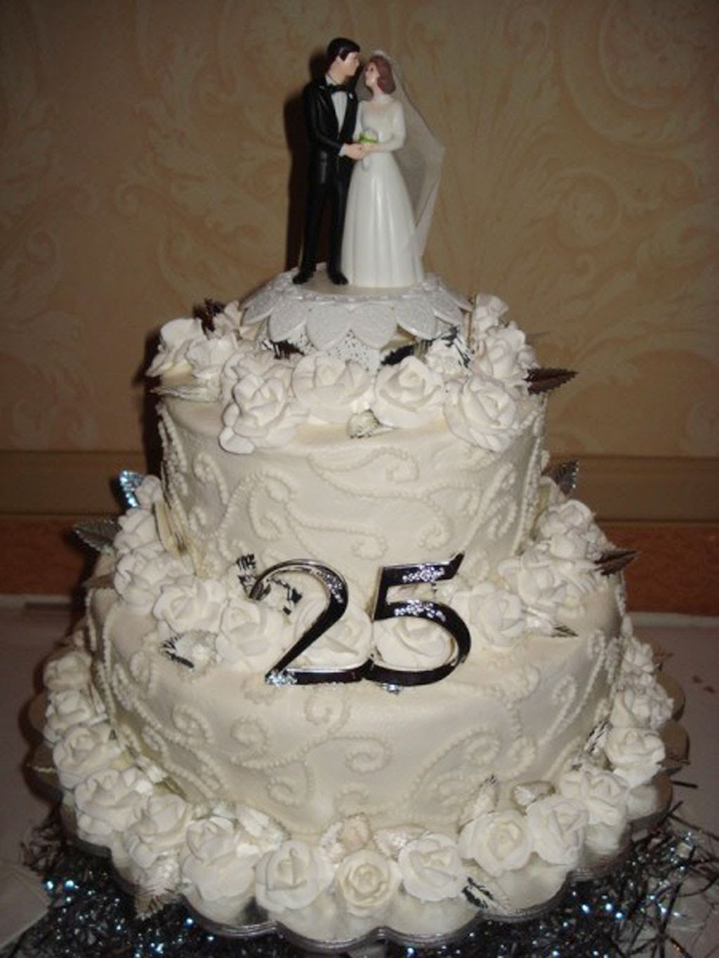 Happy 25th Anniversary Cake Images Top Colection For Greeting And