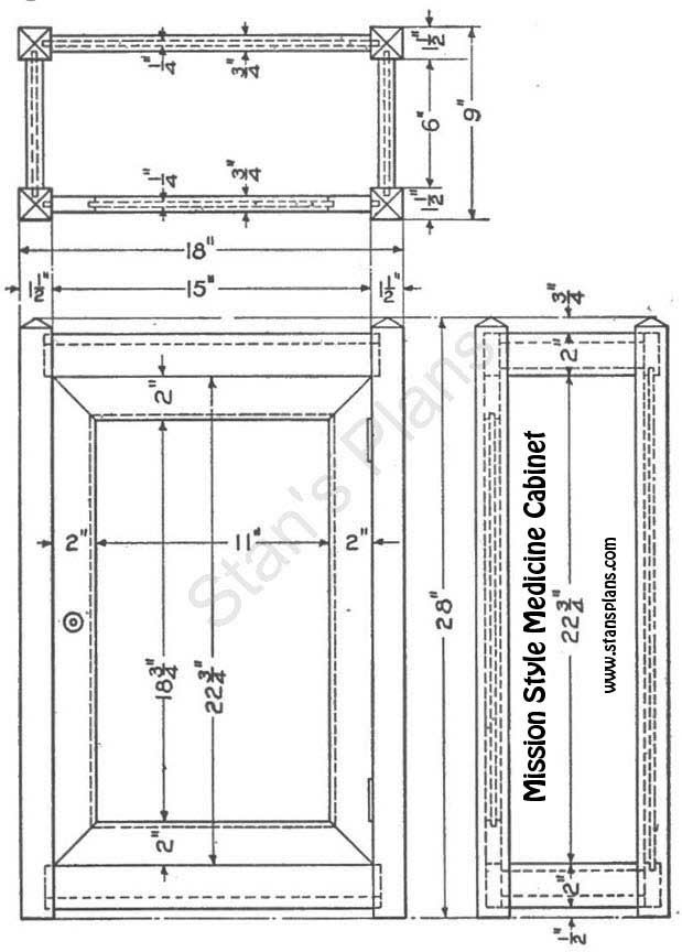 Miraculous Free Woodworking Plans Medicine Cabinet Wood Plans That Home Interior And Landscaping Ologienasavecom