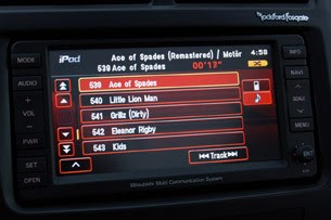 2011 Mitsubishi Outlander Sport SE AWC audio system