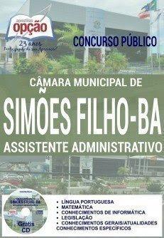 Apostila Concurso Câmara de Simões Filho BA 2016 ASSISTENTE ADMINISTRATIVO