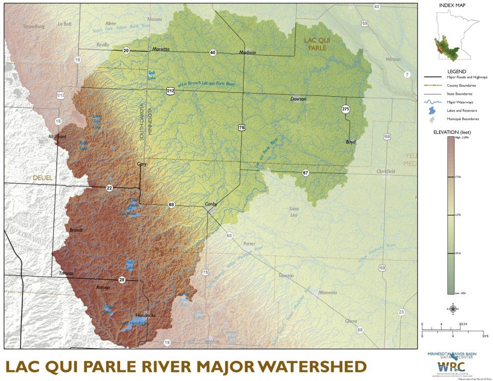 Watershed Overview Maps Minnesota River Basin Data Center