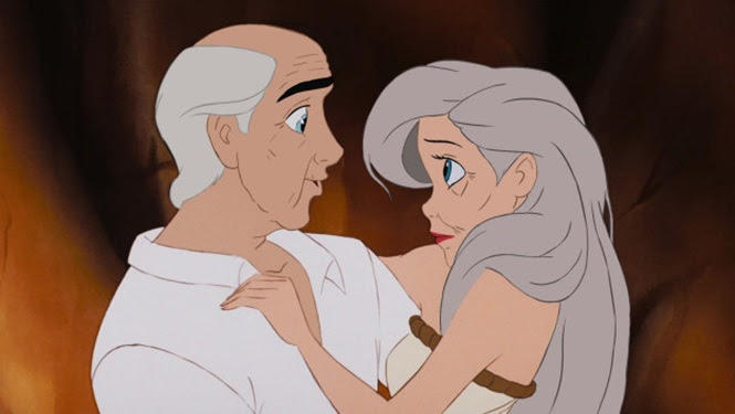 E se casais da Disney envelhecessem juntos?