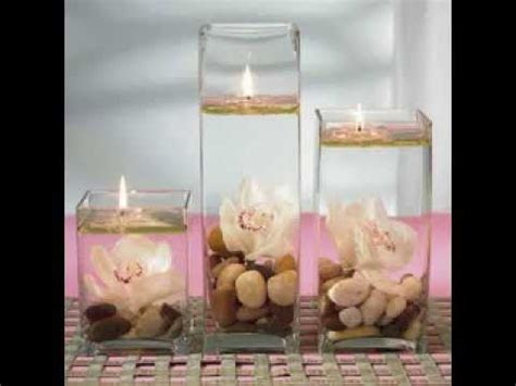DIY Cheap wedding centerpiece decorating ideas   YouTube