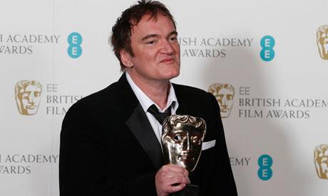 Quentin Tarantino, cinema, film, Hollywood, Django unchained, Bafta