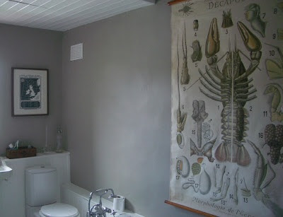 Farrow and Ball Hardwick White bathroom