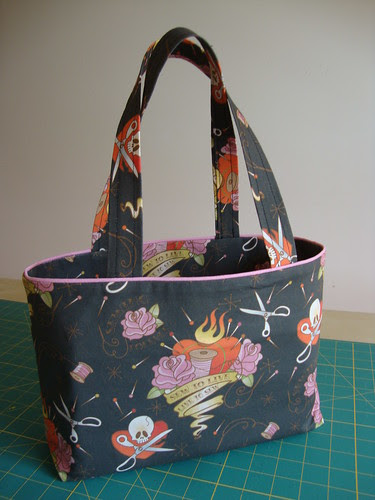 Sew to Live, Live to Sew bag