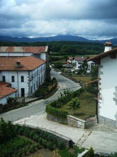 The camino to Orio zigzags through Getaria