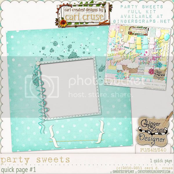Party Sweets {the QP #1}
