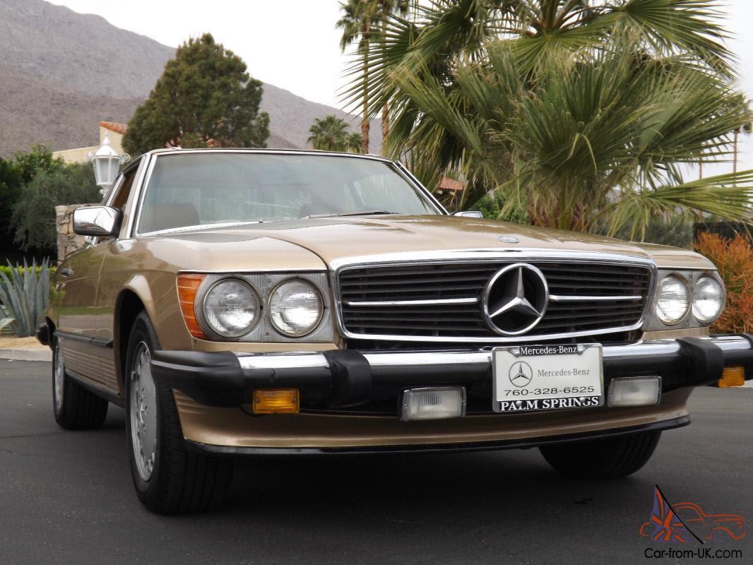 Nice California Mercedes Benz 560SL