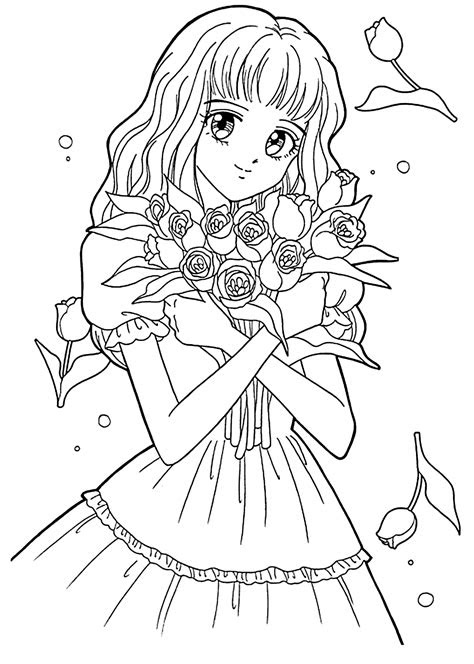 current anime coloring pages  kids pics manga meiko