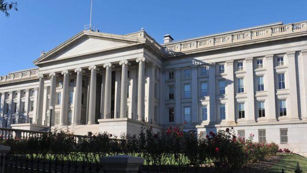 Prédio da Receita Federal americana