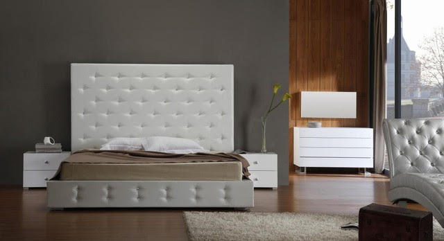 Stylish Leather High End Bedroom Furniture with Extra Storage ...