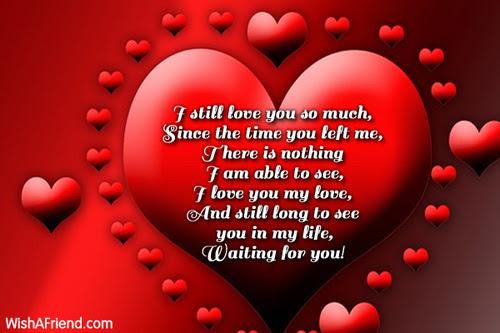 I Still Love You So Much I Love You Message For Ex Girlfriend