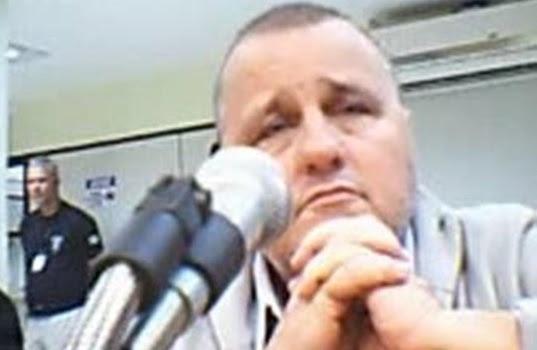 Geddel Vieira Lima durante depoimento à Justiça | Foto: Reprodução/Arquivo