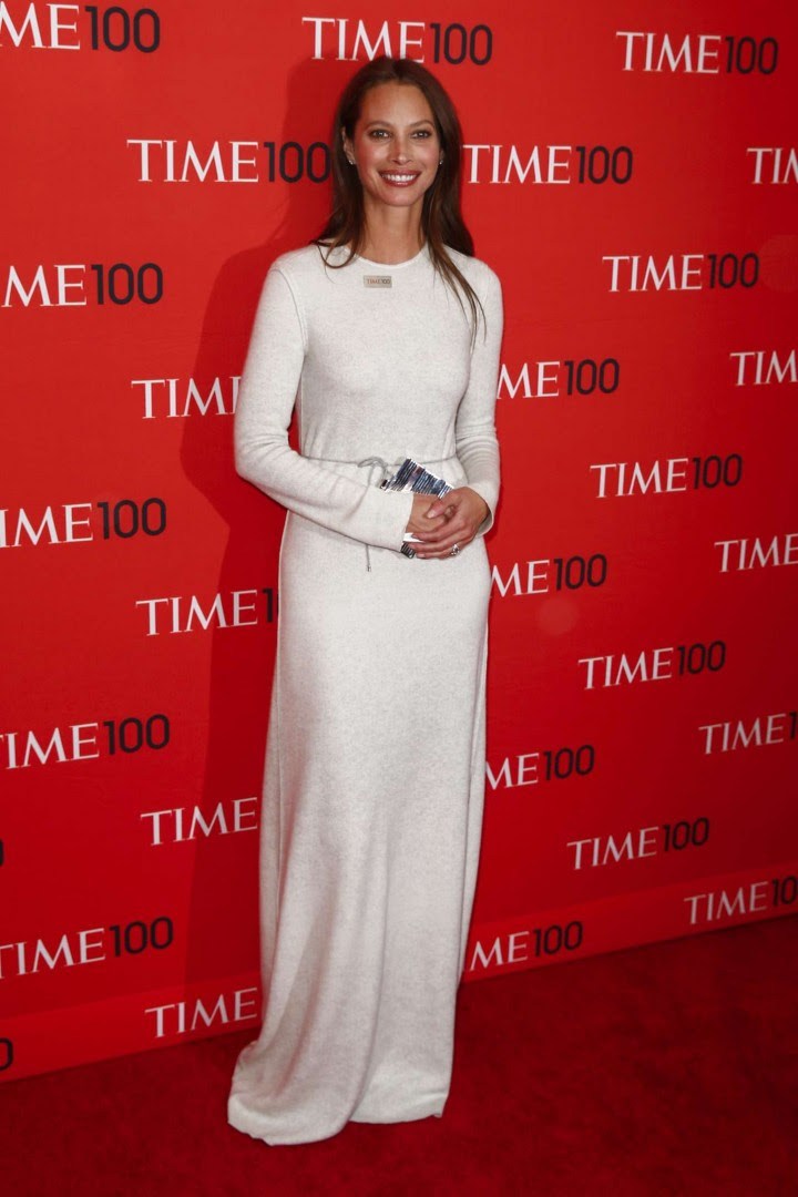 Christy Turlington – TIME 100 Gala 2014 -03