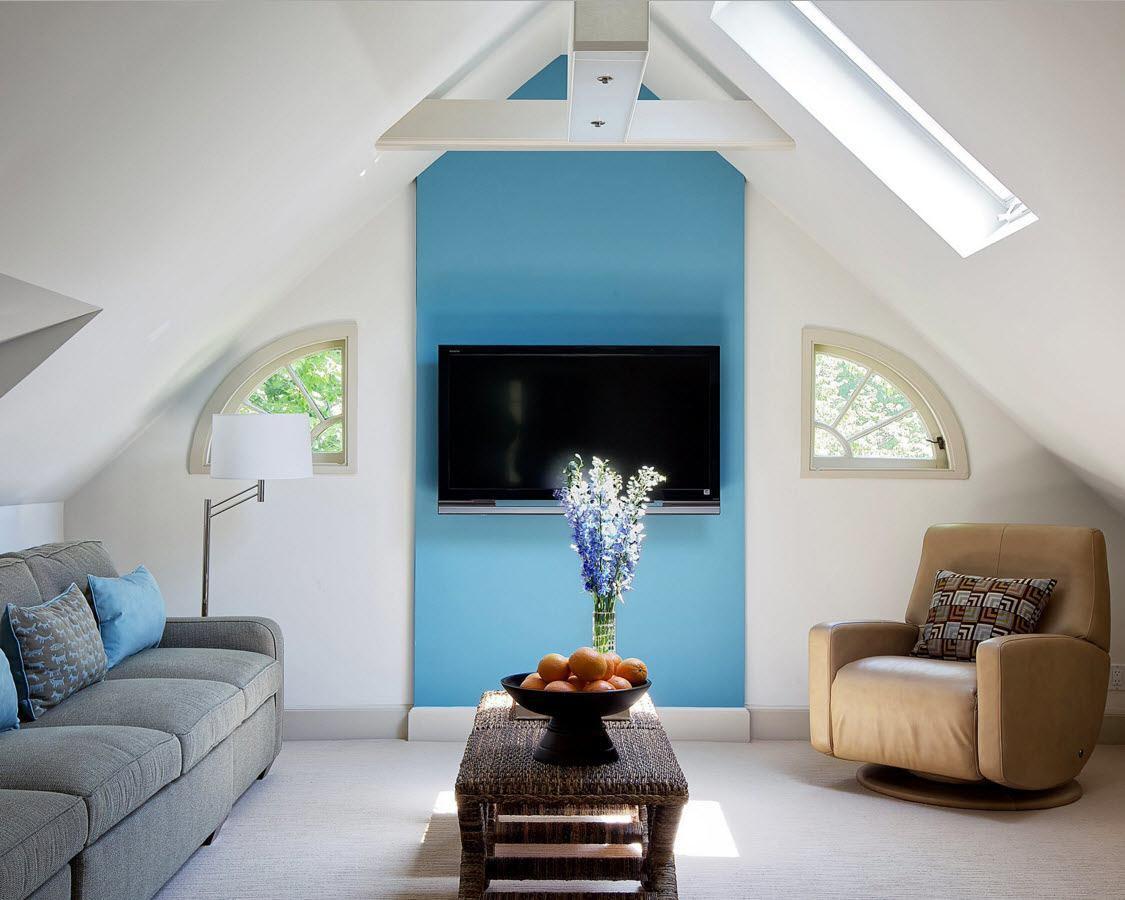 Modern Loft Living Room Design Ideas - Small Design Ideas