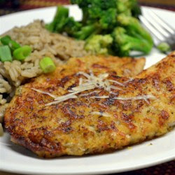 Parmesan Crusted Tilapia Fillets Recipe