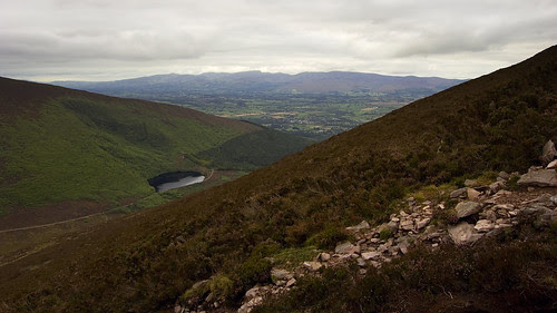 Bay Lough from the slopes of Sugarloaf Hill