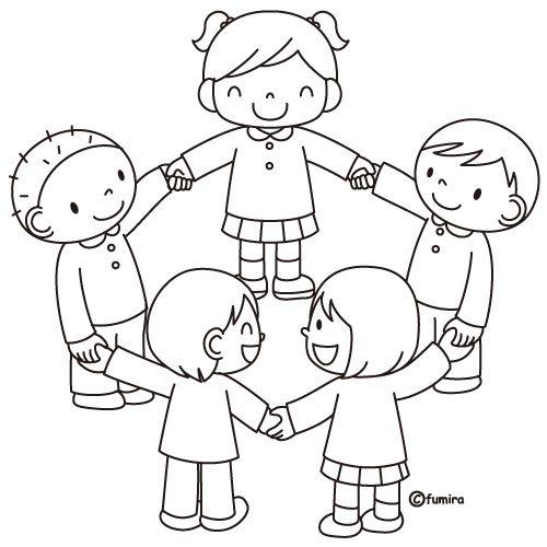 Bambini Che Fanno Merenda Disegno Da Colorare Coloratutto Website