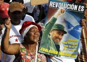 """Miembros del Contingente de obreros de la construcción y fuerzas paramilitares """"Blas Roca Calderío""""_archivo"""