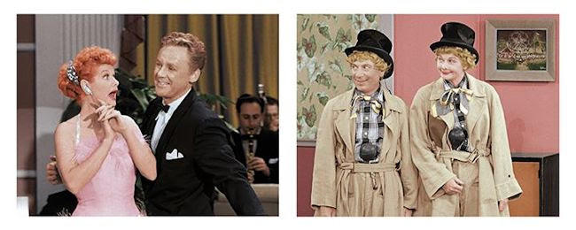 The New I Love Lucy Superstar Special - Lucille Ball, Van Johnson and Harpo Marx
