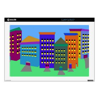 "City Art Skin For Laptops 17"" and other sizes 17"" Laptop Skin"