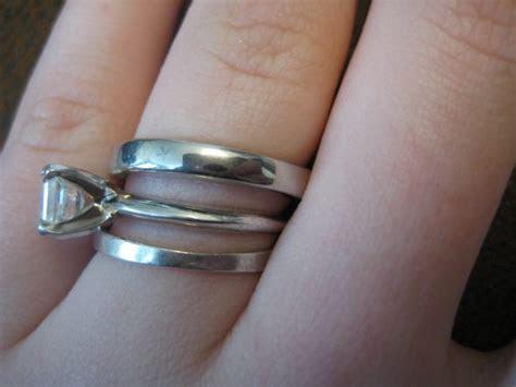 How many mm is your ering/wedding band?   Weddingbee