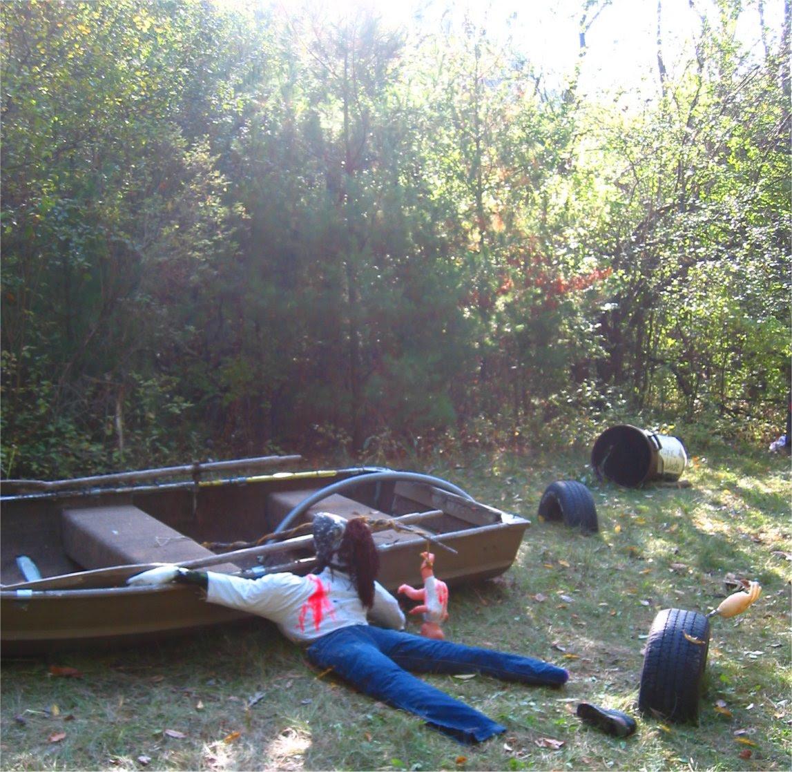 Lapham Peak Fright Hike 2005 - boating accident - soul-amp.com