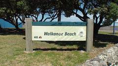 Waikanae Beach Sign