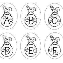Dibujos Para Colorear Conejos De Pascua Imprimir 17 Dibujos Para