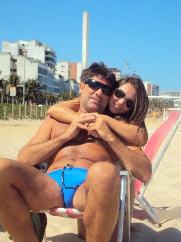 Renato Gaúcho com a filha (Foto: Reprodução/Facebook)