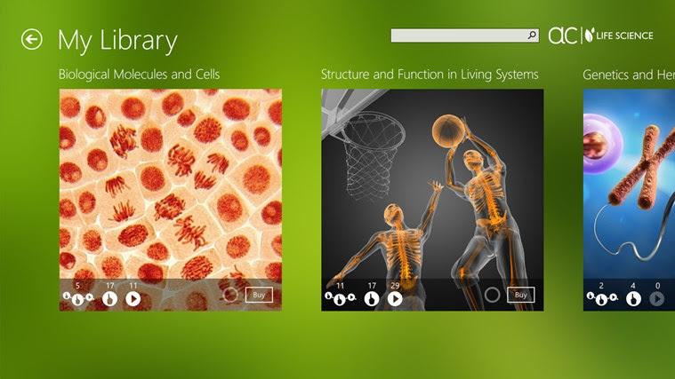 AC Life Science snímek obrazovky 1