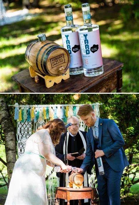 Check out Chris and Mary's killer whiskey themed wedding!