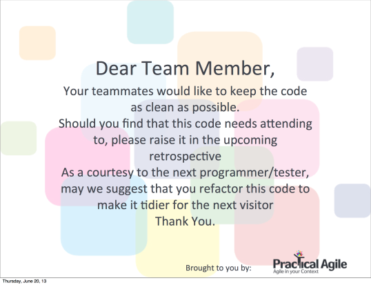 The Refactoring Poster