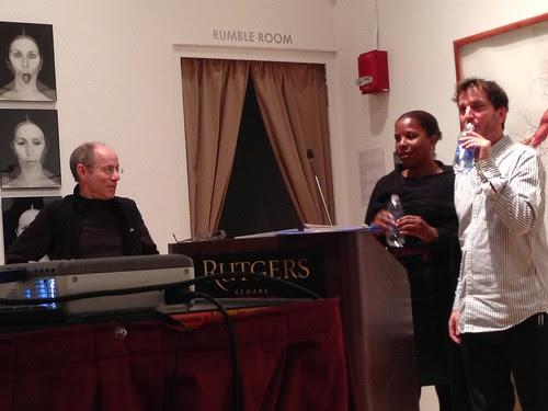 Jim Goodman, Tayari Jones, Nick Flynn