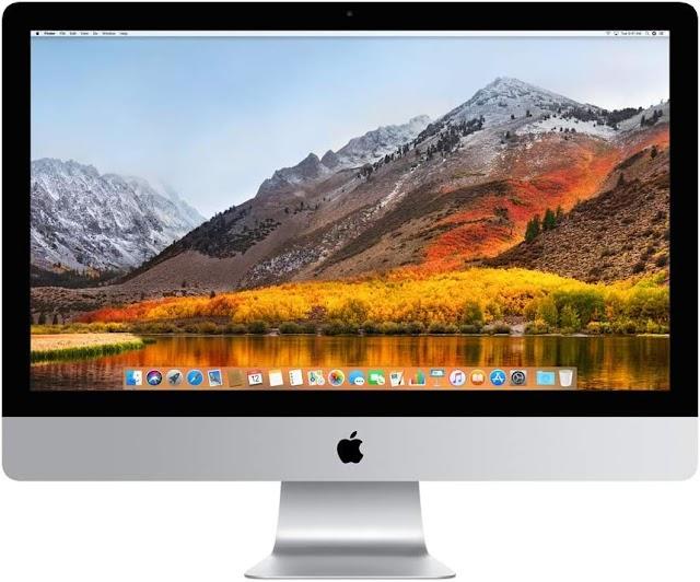 Apple iMac, pantalla de 27 pulgadas Retina 5K, procesador Intel Core i5 de cuatro núcleos a 3,5 GHz