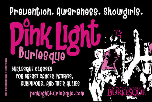 Pink Light Burlesque Free Classes for Breast Cancer Patients and Survivors