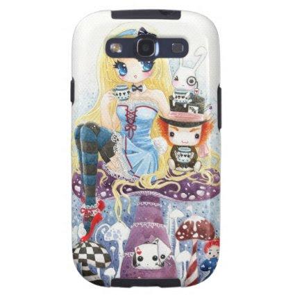 Tea time - Alice in Wonderland Samsung Galaxy S3 Case