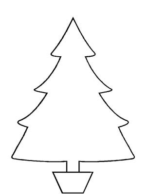 Png Clipart Clip Art Outline Christmas Tree