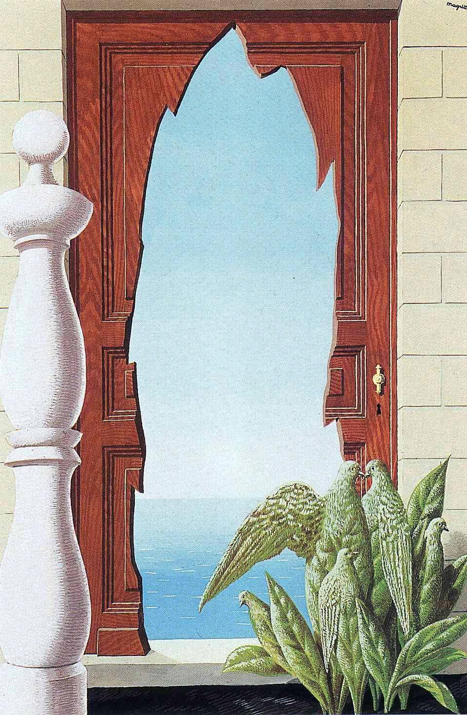 Early morning, 1942 Rene Magritte