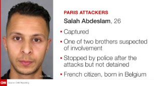 Paris attack suspects: What we know