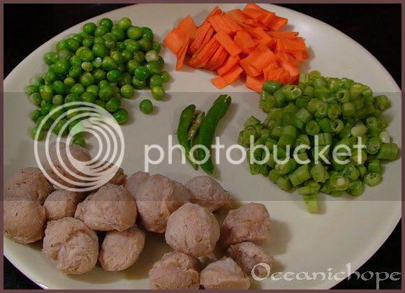 Soya Nuggets Rice