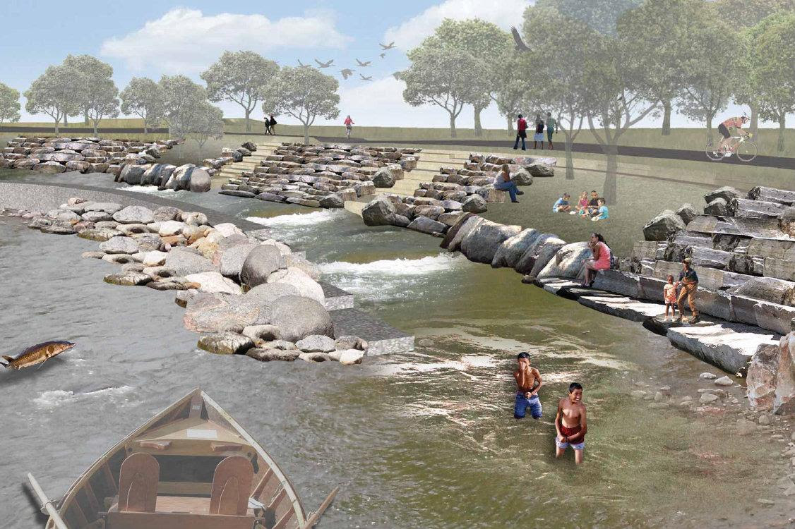 Check Out How The Grand River Could Look In Grand Rapids With River